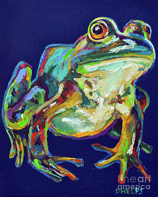 Painting - Bullfrog by Robert Phelps