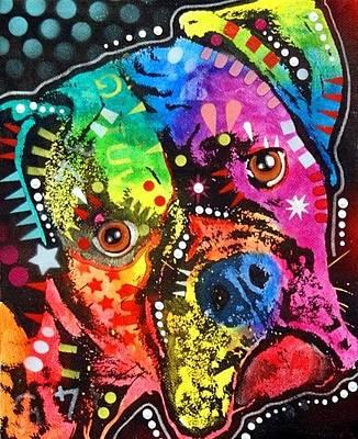 Mastiff Wall Art - Painting - Bullmastiff by Dean Russo