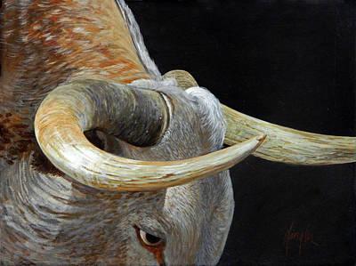 Bull's Eye Original by Gaylon Dingler