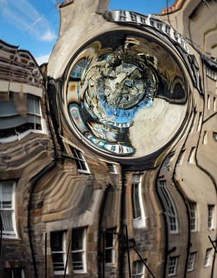 Photograph - Bullseye On Edinburgh by Jean Noren