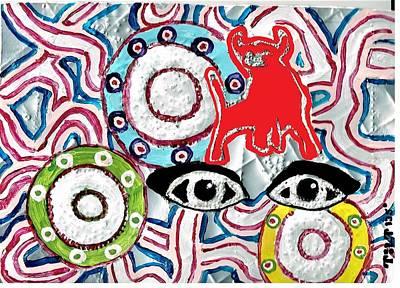 Digital Art - Bullseye by William Tilton