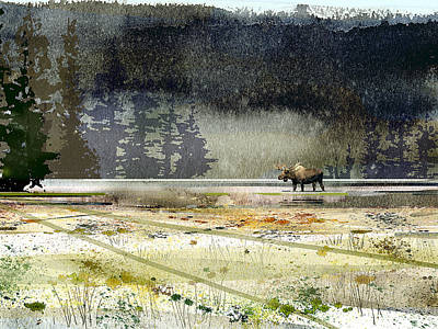 Painting - Bullwinkle by Paul Sachtleben