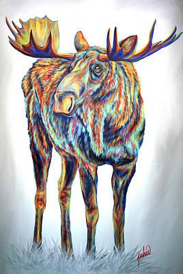 Painting - Bullwinkle by Teshia Art