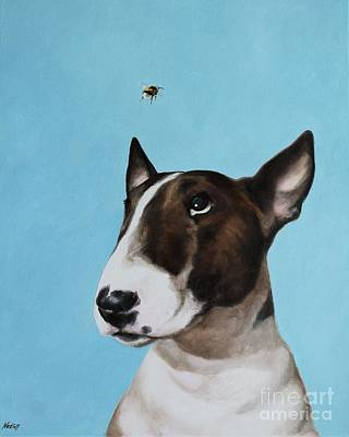 Bully And Bee Art Print