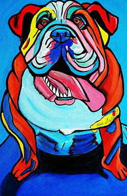 Painting - Bully by Nora Shepley