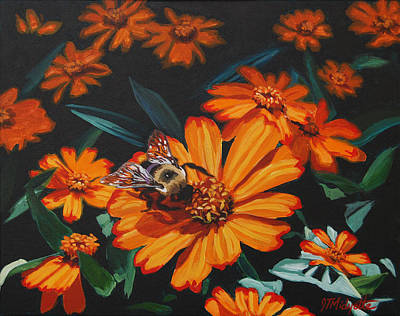 Painting - Bumble Bee by Tommy Midyette