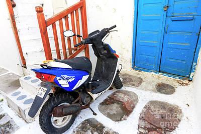Photograph - Bump In Mykonos by John Rizzuto