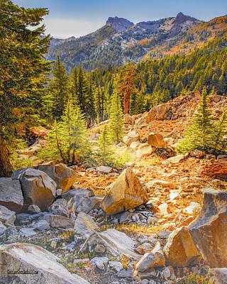 Photograph - Bumpass Hell Trail by LeeAnn McLaneGoetz McLaneGoetzStudioLLCcom