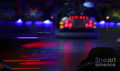 Photograph - Bumper Cars by Jutta Maria Pusl