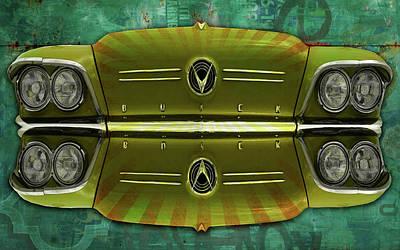Digital Art - Bumper To Bumper by Greg Sharpe