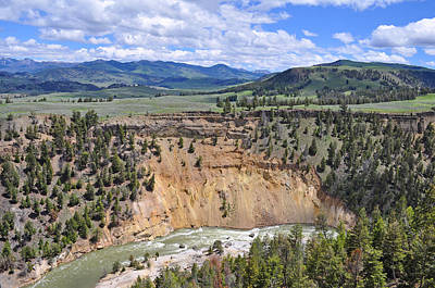 Bumpus Butte Yellowstone Art Print