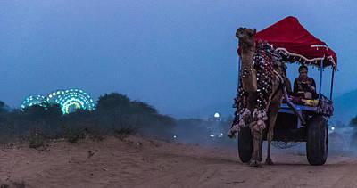 Blue Hues - Bumpy Ride by Anupam Gupta