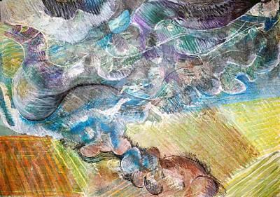 Bumpy Twister Art Print by Jame Hayes