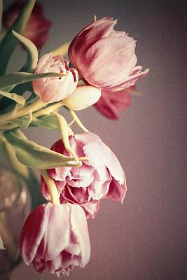 Double Layer Photograph - Bunch Of Beauties by Cathie Tyler