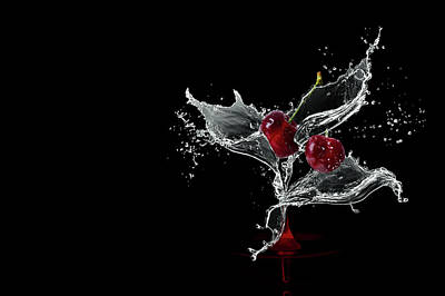 Photograph - Bunch Of Water Flowers by Christine Sponchia