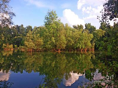 Photograph - Bundek Park Zagreb #2 by Jasna Dragun