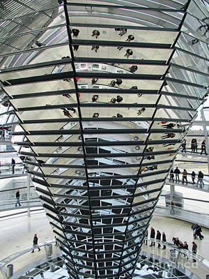 Photograph - Bundestag 14 by Randall Weidner