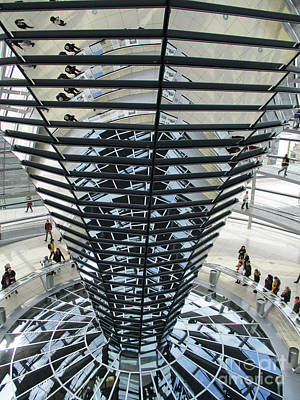 Photograph - Bundestag 15 by Randall Weidner