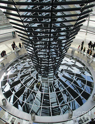 Photograph - Bundestag 16 by Randall Weidner