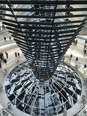 Photograph - Bundestag 17 by Randall Weidner