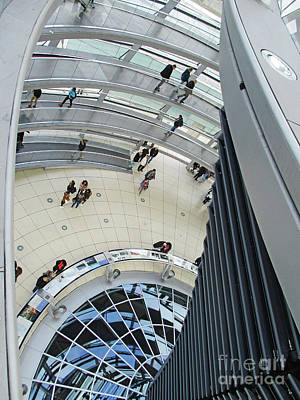 Photograph - Bundestag 25 by Randall Weidner