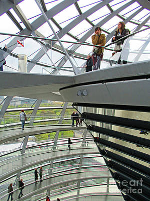 Photograph - Bundestag 26 by Randall Weidner