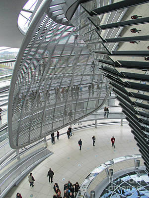 Photograph - Bundestag 27 by Randall Weidner