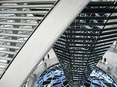 Photograph - Bundestag 29 by Randall Weidner