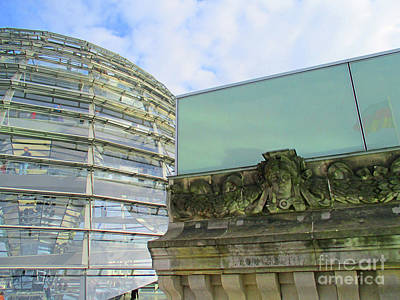 Photograph - Bundestag 35 by Randall Weidner