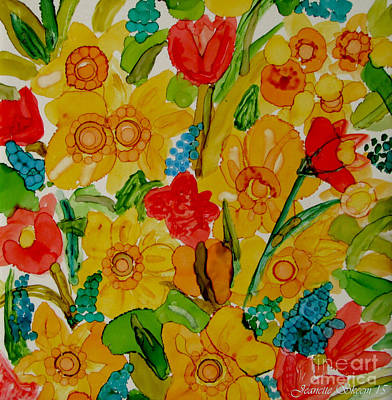 Painting - Bundle Of Spring by Jeanette Skeem