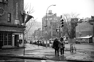 Photograph - Bundled Up On 7th Avenue by John Rizzuto