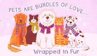 Photograph - Bundles Of Love by Anne-elizabeth Whiteway