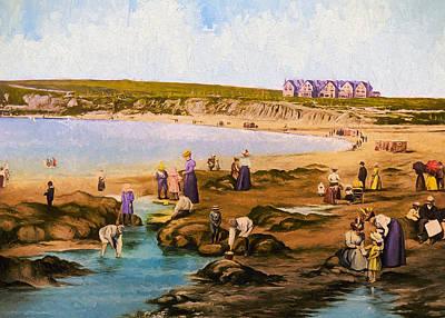 Bundoran Beach Art Print