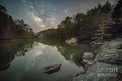Maine Landscape Photograph - Bunganuc Landing At Night by Benjamin Williamson