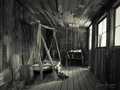 Photograph - Bunk House - 1770,sw by Wally Hampton
