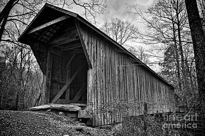Photograph - Bunker Hill Covered Bridge by Randy Rogers