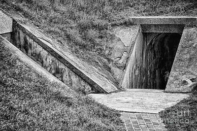 Photograph - Bunkers At Foort Pulasi by Dawn Gari