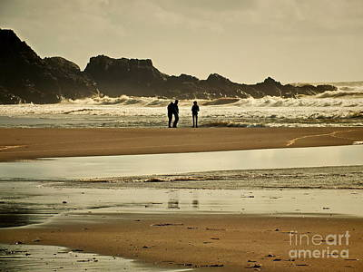 Photograph - Bunmahon Beach 2  Coppercoast  by Val Byrne
