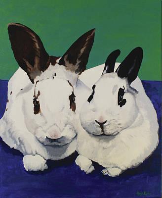 Studio Grafika Vintage Posters - Bunnies by Alexandra Kube