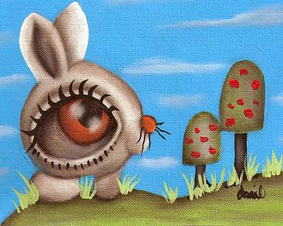 Painting - Bunny Bolita by  Abril Andrade Griffith
