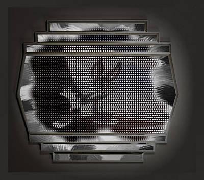 Digital Art - Bunny Dots by Mario Carini