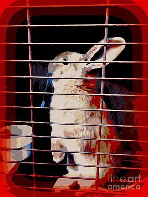 Digital Art - Bunny Hop by Ed Weidman