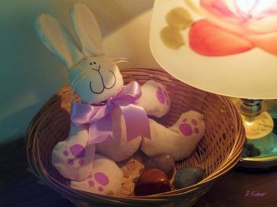 Photograph - Bunny In A Basket by Denise Fulmer