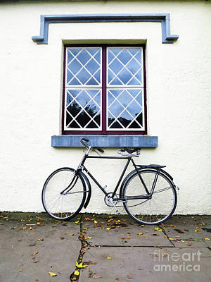 Photograph - Bunratty Bike by Rick Locke