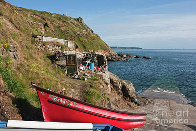 Photograph - Bunty In Priest's Cove Cape Cornwall by Terri Waters