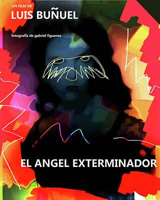 Salvador Mixed Media - Bunuel Movie Poster by Paul Sutcliffe