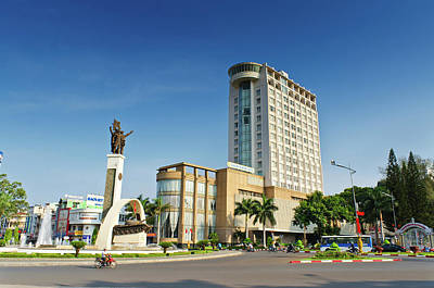 Photograph - Buon Ma Thuot City Square by Tran Minh Quan