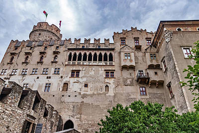 Photograph - Buonconsiglio Castle Back View by Carolyn Derstine