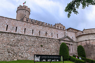Photograph - Buonconsiglio Castle  by Carolyn Derstine