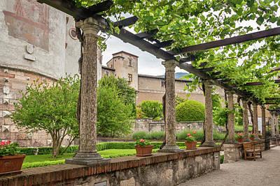 Photograph - Buonconsiglio Castle Gardens by Carolyn Derstine